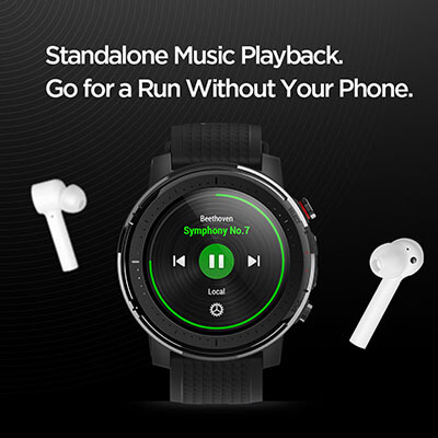 Amazfit Stratos 3 music standalone