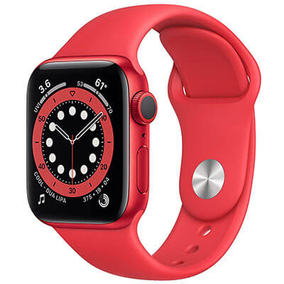 AppleWatch Series 6 - red