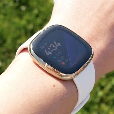 Fitbit Sense Advanced Smartwatch - side view