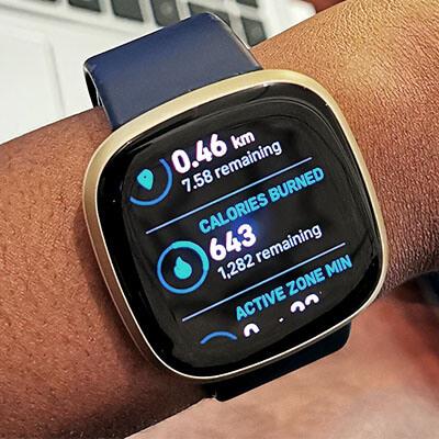 Fitbit Versa 3 Midnight Blue - onhand