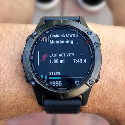 Garmin fenix 6 Pro Premium Multisport GPS Watch - on hand