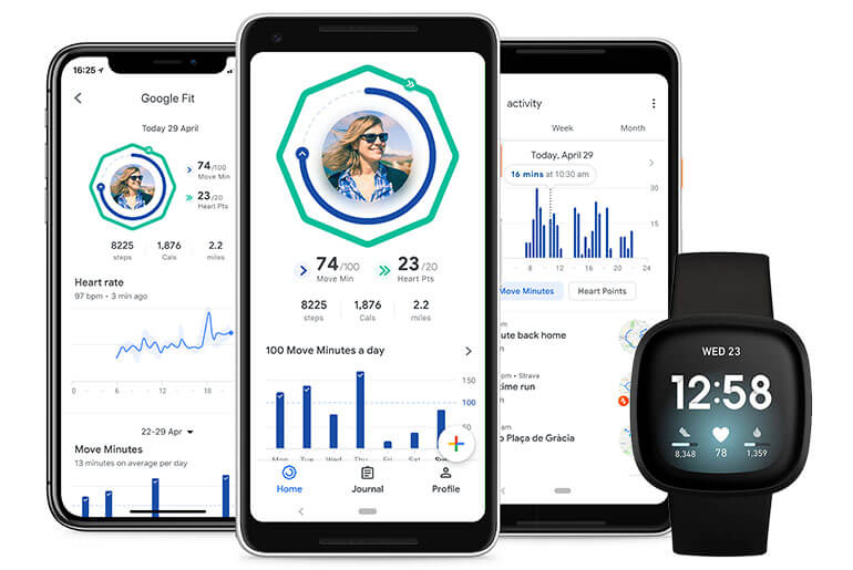 fitbit compatible with google fit